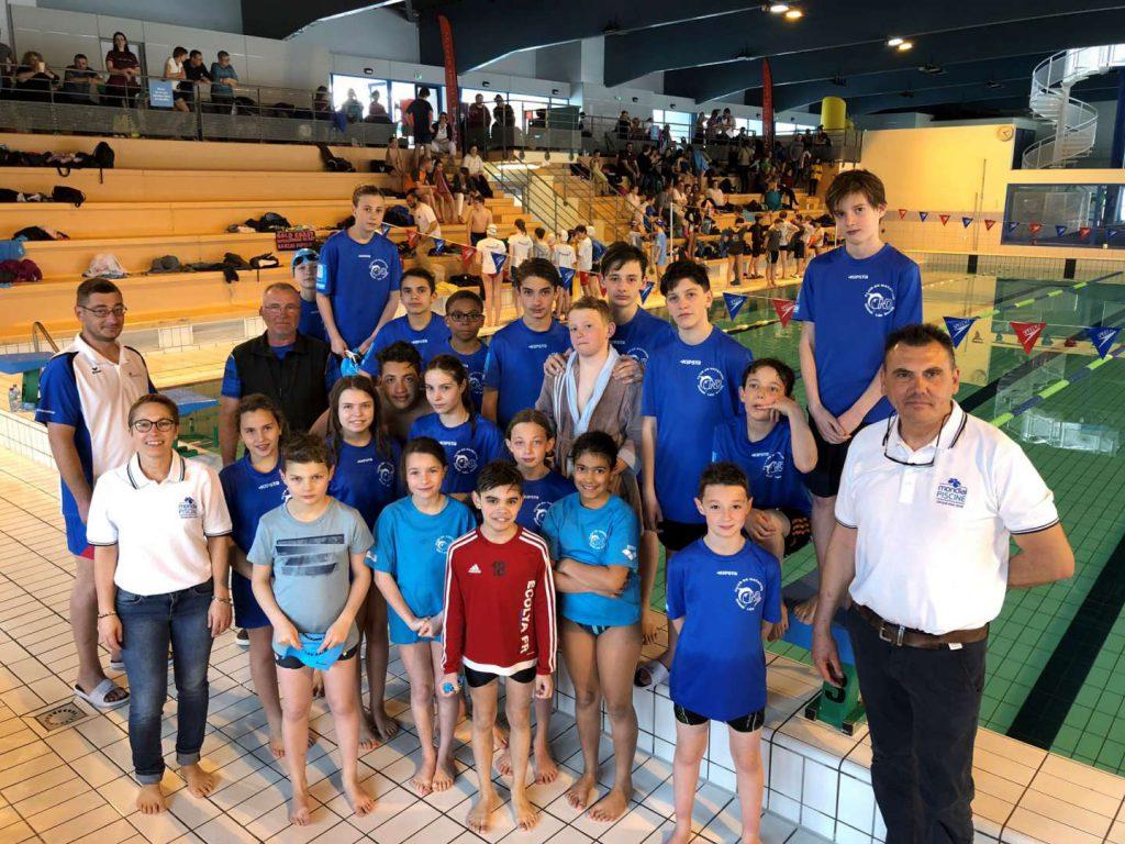 équipe de natation